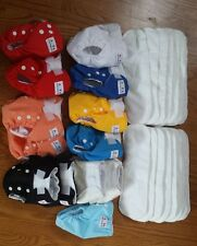 Lot 13 New Alva Baby Diapers & 15 Inserts