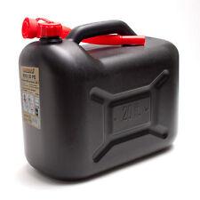 Benzinkanister 20L schwarz Benzin-Kanister 20 Liter Diesel  Kraftstoffkanister