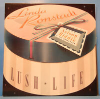LINDA RONSTADT LUSH LIFE VINYL LP 1984 ORIGINAL PRESS GREAT COND! VG++/VG++!!C