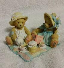 Cherished Teddies Freda & Tina Figurine, Two Friends Having Tea 911747