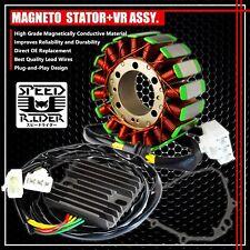 01-06 CBR 600 F4i MAGNETO COIL STATOR+VOLTAGE REGULATOR RECTIFIER+GASKET ASSY