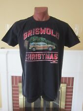 National Lampoon Griswold Christmas Vacation T-SHIRT Station Wagon Tree XL Black
