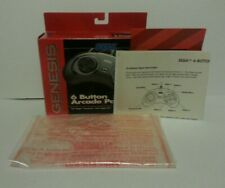 Original Sega Genesis 6 Six Button Controller BOX ONLY NO CONTROLLERS