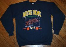 Notre Dame Football 1988 National Champions Fiesta Bowl Sweatshirt-XL w/scores