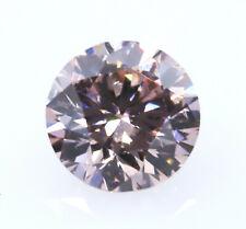 Argyle 0.19ct Natural Loose Fancy Pink Color Diamond Argyle Round Pc1 SI1