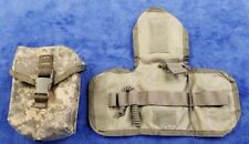 US Military MOLLE ACU Camo IFAK First Aid Pouch WITH INSERT & CORDS, EXC Cond!!