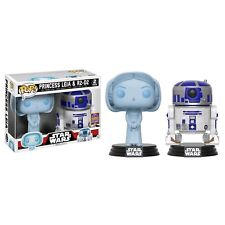 Star Wars Princess Leia Hologram & R2-D2 2-Pack SDCC 2017 US Exclusive Funko POP