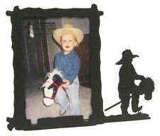 "Little Cowboy Stick Horse Picture Frame 3.5""x5"" - 3""x5"" V"