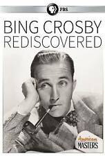 PBS's BING CROSBY - REDISCOVERED rare Musical Documentary dvd NEW