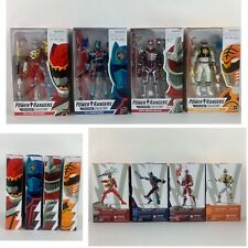 Hasbro Power Rangers Lightning Collection White Ranger and others Lot of 4 Pcs