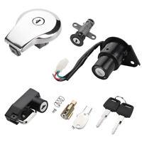 Ignition Switch Gas Cap Helmet Steering Lock For Yamaha Virago XV125 XV250 XV535