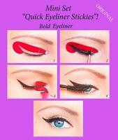 Quick Eyeliner Stickies Stencils Eye Makeup Tool MINI SET 24 pcs ORIGINAL US1