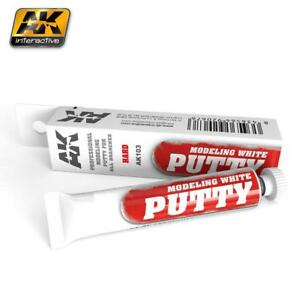 AK INTERACTIVE MODELING WHITE PUTTY 20 ml for modelers