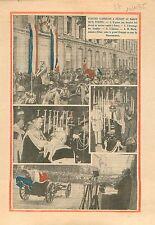 Maréchal Hubert Lyautey au Maroc Nancy Louis Marin Ministre 1935 ILLUSTRATION