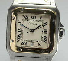 CARTIER Santos Galbee LM Quartz 18K solid gold/Stainless Men's watch_268313