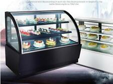 New Commercial Countertop Refrigerated Cake Showcase 220V Diamond Glass Cabinet