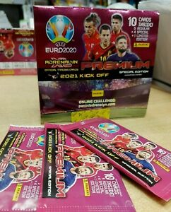 Panini Adrenalyn XL UEFA Euro 2020 Premium Trading Cards 2021 Kick Off: Choose