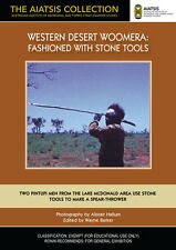 New DVD** WESTERN DESERT WOOMERA: Fashioned With Stone Tools [from the AIATSIS C