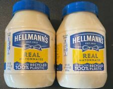 Pack of 2 30oz  Hellman's Real Mayonnaise Made With Cage Free Eggs Exp1/21