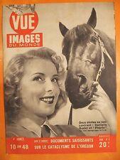 Point de Vue Images N° 3 du 10/06/1948-Danielle Godet & Pharis-Churchill