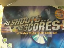 Vivid Games He Shoots He scores Dvd Football Quiz 2005 Game UK board game Soccer