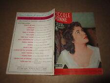 CINEROMANZO I ROMANZI DELLO SCHERMO N°10 GIU.1955 PICCOLE DONNE E.TAYLOR BRAZZI