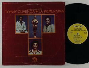 """Tommy Olivencia """"La Primerisima"""" Latin Salsa LP Inca"""