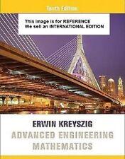 Advanced Engineering Mathematics by Erwin Kreyszig (Int' Ed Paperback)10ED
