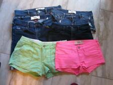 Size 3 HOLLISTER lot of (6) Short Shorts/High Waist Shorts