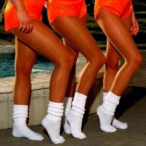 Peavey Suntan Pantyhose Q XL work Play lingerie Hooters Uniform Tights 20 DENIER