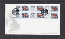 GB 2015 Post & Go Frama ATM Union Flag NMRN VE Day 70 FDC SW1A pictorial pmk