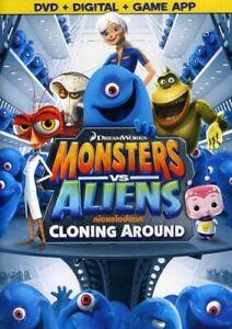 MONSTERS VS ALIENS: CLONING AROUND (WS) NEW DVD