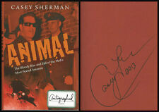 Animal Bloody Rise & Fall of Mob's Most Feared Assassin HC Signed