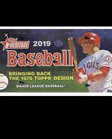 2019 topps heritage base 221 to 400 & inserts & purple chrome