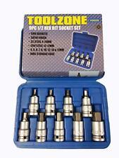 Toolzone 9 piezas cabeza hexagonal set Unidad de 1.3cmcm