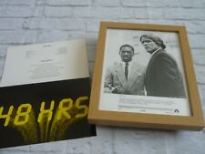 Framed Lobby card Press kit & Promo Photo 48 HOURS EDDIE MURPHY NICK NOLTE