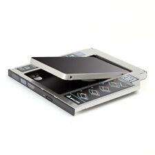2. HDD/SSD SATA 3.0 (SATA III) Festplattenrahmen Caddy für 9,5mm SATA 2,5 Zoll