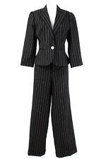 Ralph Lauren Hosenanzug Gr. L / 40 Leinen Blazer Hose Business Suit Jacket Pants