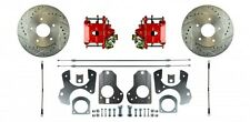 78-88 G-Body / 82-92 F-Body Rear Disc Brake Conversion - Red Calipers