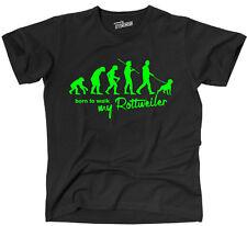 TEVO T-Shirt Hunde EVOLUTION ROTTWEILER Rotti born to walk Siviwonder