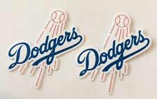 2x Los Angeles Dodgers Car Bumper Laptop Phone Vinyl Die Cut Sticker Decal