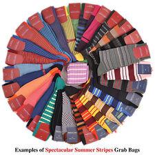 Marcoliani and Bresciani Men's 10pr. Mid-Calf Stripes Sock GrabBag Made in Italy