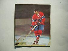 1966/67 POST CEREAL TIPS NHL HOCKEY PHOTO HENRI RICHARD
