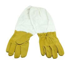 Imkerhandschuhe Ziegenleder Schutzhandschuhe Handschuhe mit Schutzärmeln 49cm