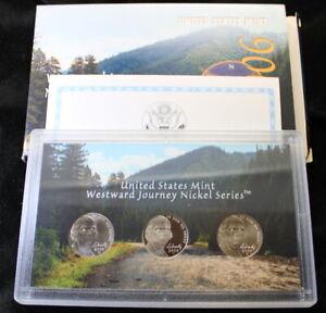 2006 Westward Journey Nickel Series Uncirculated Coin Set