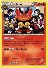 Emboar Rare Pokemon Cosmic Eclipse Card # 33 SM12-033 4x