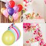 "10"" Latex Metallic Pearlised Quality Party Birthday Wedding Ballons Balloons"