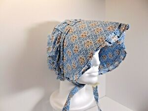 Pioneer Bonnet Large 100% Cotton, 3 Designs to Choose from