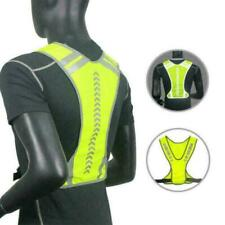 High Visibility Reflective Cycling Vest Bicycle Jackets Bike Z4T5 Waistcoat G4L1
