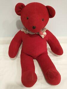 Vintage 1979 North American Bear Co Red Bear
